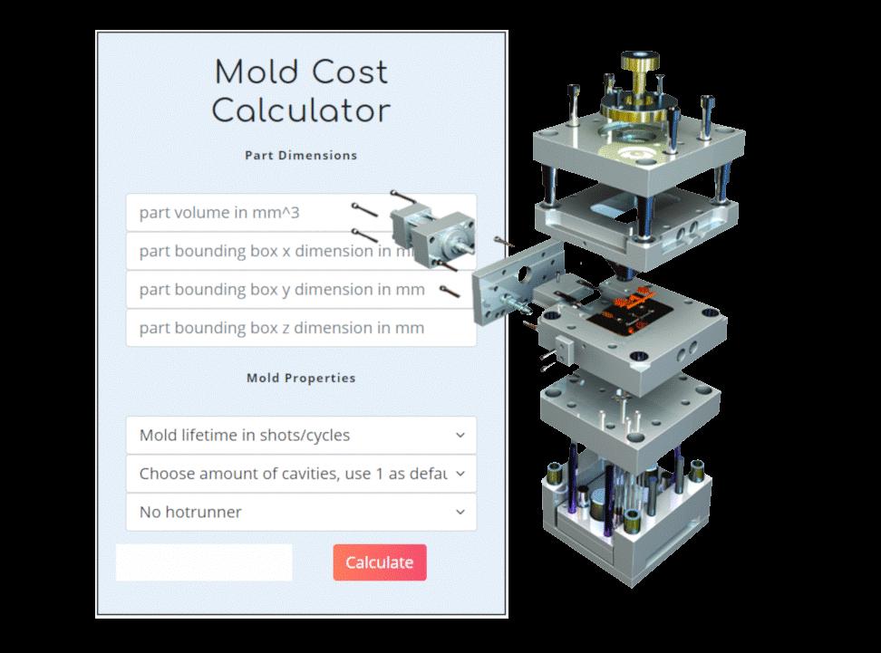 mold cost calculator